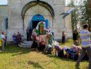 Приходская Благовещенская церковь в Рымках