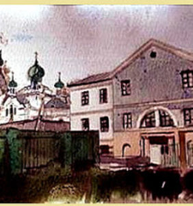 Старая мельница в Поставах
